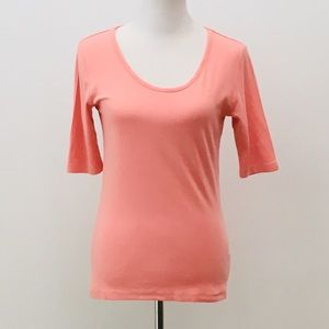 NEW LISTING Andrea Jovine Light Salmon Top Size M